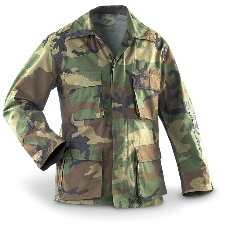 BDU Jackets New and Used All used BDU jackets are in good condition and available in S M L & XL All Sales on used items are final!