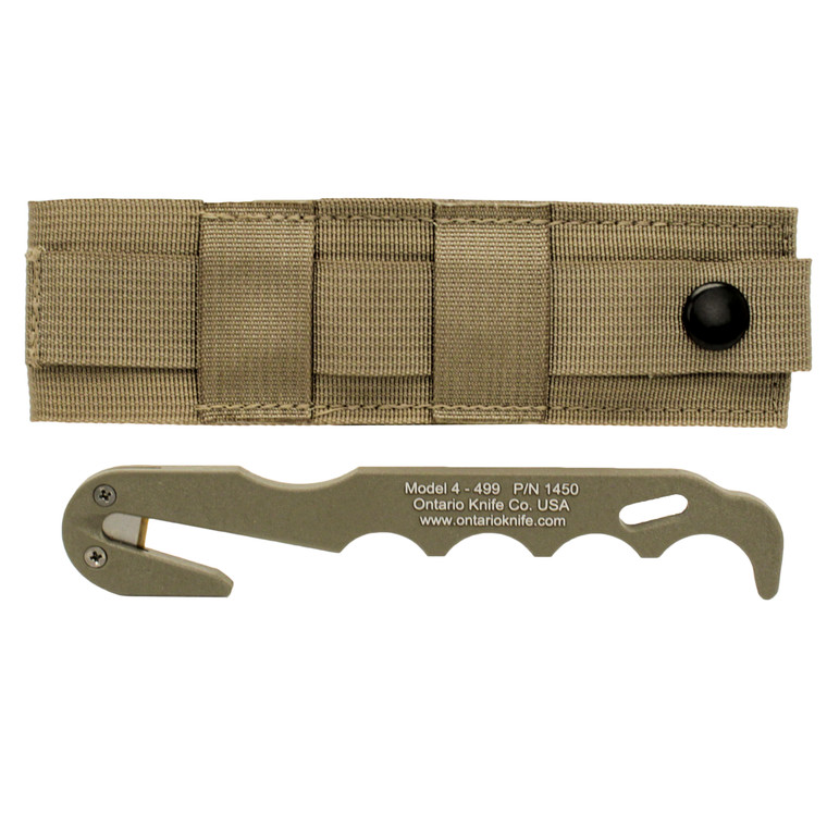 Ontario Knife Company Strap Cutter Model 4 Coyote