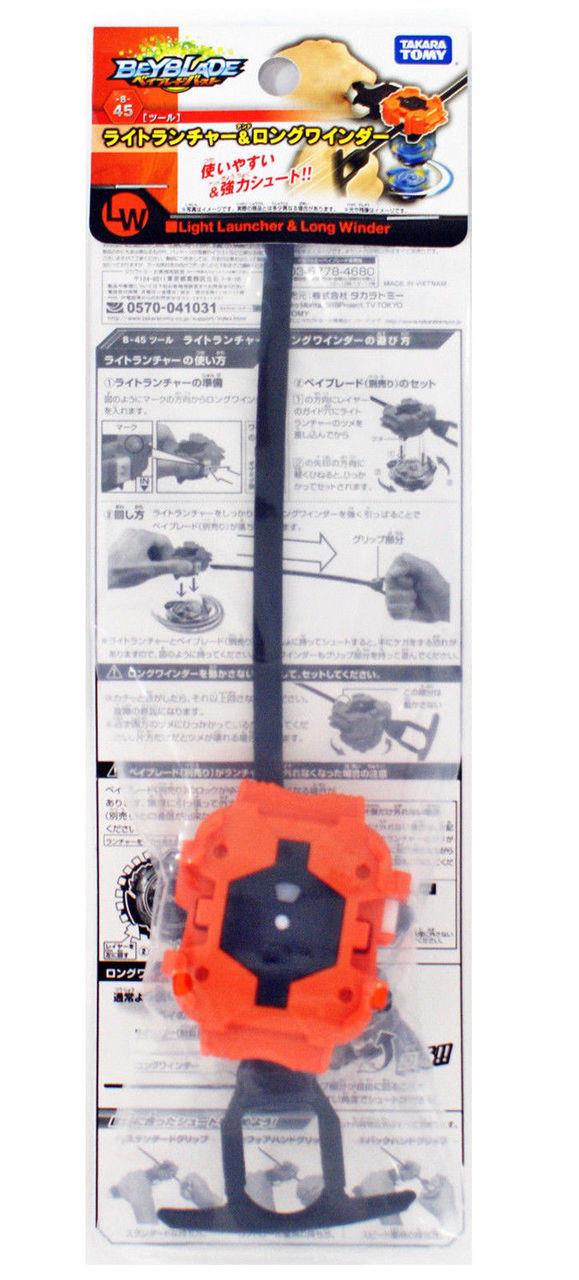 Takara Tomy Beyblade burst B-45 light launcher /& Long winder