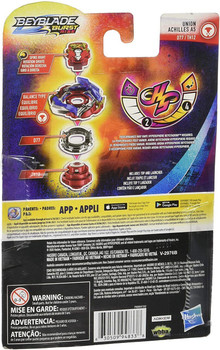 HASBRO Union Achilles A5  Burst Rise HyperSphere Beyblade E7714