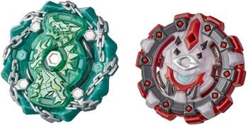 HASBRO Behemoth Cyclops C5 & Shield Kerbeus K5 Burst Rise HyperSphere Beyblade Dual Pack E9238