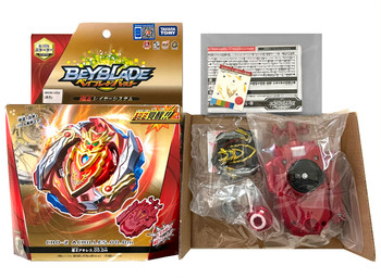 TAKARA TOMY Cho-Z Achilles Burst Turbo Beyblade B-129 (Rare Black Version)