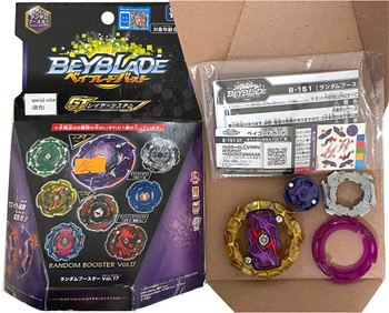 TAKARA TOMY Tact Longinus Burst GT Rise Beyblade B-151 (Rare Recolor Gold Layer Version)
