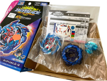 TAKARA TOMY King Helios .Zn 1B Burst Superking Surge Beyblade B-160 (Rare Blue Chassis Recolor Version)