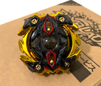 TAKARA TOMY RARE Gold Zillion Zeus .M.V WBBA God Version Burst Beyblade B-00