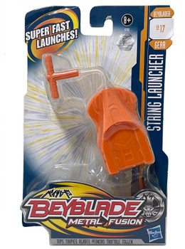 HASBRO Metal Fusion Orange Beyblade String Launcher / BeyLauncher BB-17