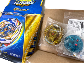 TAKARA TOMY Rare Imperial Dragon Burst Rise GT Beyblade B-154 (Rare Gold Recolor Version)