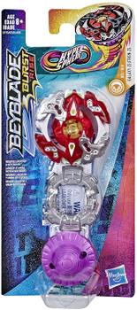 HASBRO Galaxy Zeutron Z5 Lore Revolver-H Burst Rise Hypersphere Beyblade E7735