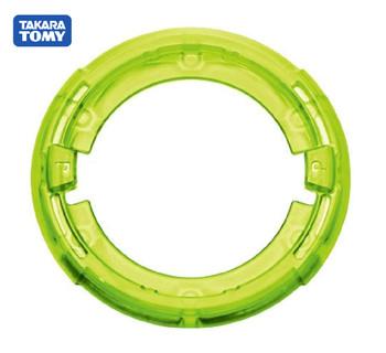 TAKARA TOMY Beyblade Burst Disc Frame - Proof (P) - Green - B-124 NWOP