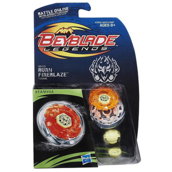 HASBRO Burn Fireblaze / Phoenix 135MS Legends Beyblade BB-59