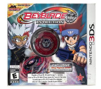 Beyblade: Evolution Collector's Edition Nintendo 3DS Video Game w/ Takara Tomy Wing Pegasis / Pegasus Beyblade