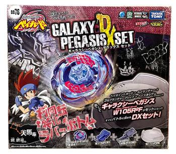 TAKARA TOMY Metal Masters Beyblade Galaxy Pegasis DX Set w/ Stadium BB-76