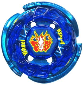 TAKARA TOMY Blue Storm Pegasis 100RF (Stardust Ver.) Metal Fusion Beyblade BB-44
