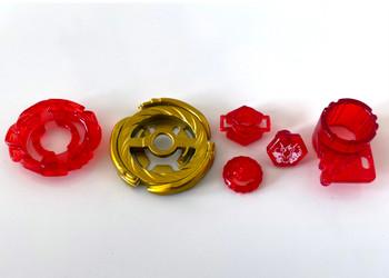 TAKARA TOMY Storm Pegasis 100HF (Gold Red Ver.) WBBA CoroCoro Limited Edition Metal Fusion Beyblade - NWOP