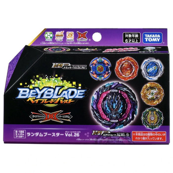TAKARA TOMY Burst Dynamite Random Booster Vol. 26 Beyblade B-186 (1pcs)
