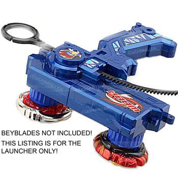 Beyblade Duotron Dual Launcher / Ripper, BLUE