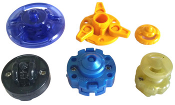 Beyblade PARTS Pack w/ B:D D:D X:D F:D C145 Bottoms