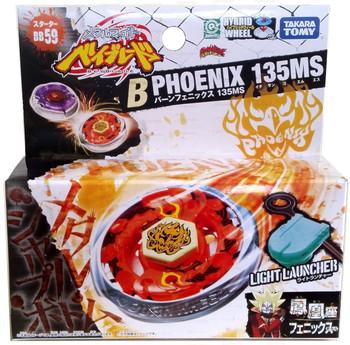 TAKARA TOMY Burn Fireblaze Phoenix 135MS Metal Fusion Beyblade STARTER w/ Launcher BB-59