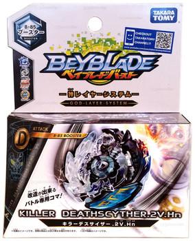 TAKARA TOMY Killer Deathscyther / Doomscizor .2V.Hn Burst Beyblade B-85