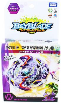 TAKARA TOMY Wild Wyvern / Wyvron .V.O Beyblade Burst Starter w/ Launcher B-41