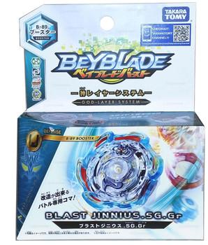 TAKARA TOMY Blast Jinnius / Genius / Jenius .5G.Gr Burst Beyblade B-89