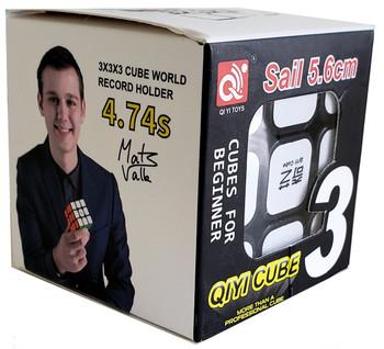 QiYi Sail 3x3 Speed Cube Magic Twist Puzzle 5.6CM