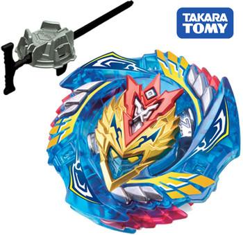 TAKARA TOMY Cho-Z Valkyrie / Turbo Valtryek .Z.Ev Beyblade Burst Starter w/ Launcher B-127