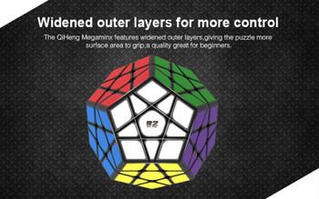 QiYi QiHeng Megaminx 12 Sided Magic Speed Cube / Twist Puzzle 9.5CM