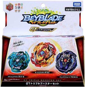 TAKARA TOMY Beyblade Burst GT Triple Booster Set B-149