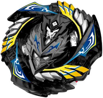 RARE Limited Edition BLACK Cho-Z Valkyrie / Turbo Valtryek Burst Beyblade B-00-127-B