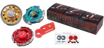 TAKARA TOMY Beyblade Metal Fury Strongest Blader Set BB-117