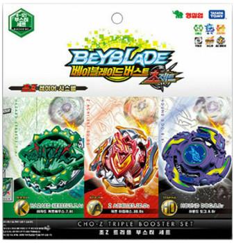 TAKARA TOMY Beyblade Burst Cho-Z Triple Booster Set B-121
