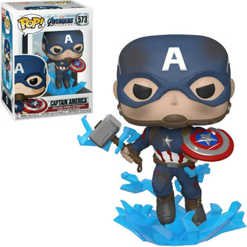 Funko Pop! MARVEL Avengers Endgame #573 Captain America
