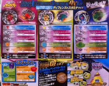 TAKARA TOMY Beyblade Zero-G Ultimate Synchrom DX Set Defense & Stamina Type BBG-25
