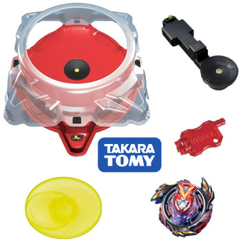 TAKARA TOMY Burst Mugen Beystadium DX Set w/ Stadium & Strike God Valkyrie B-96