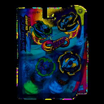 HASBRO Beyblade Burst Rise Hypersphere Ogre O5 & Rock Dragon D5 Dual Pack E7726