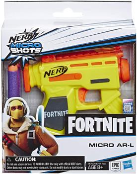 Nerf Fortnite MicroShots AR-L Toy Blaster Dart Gun E6750