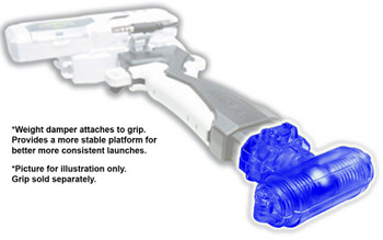 BLUE Beyblade Burst Launcher Grip WEIGHT DAMPER B-47