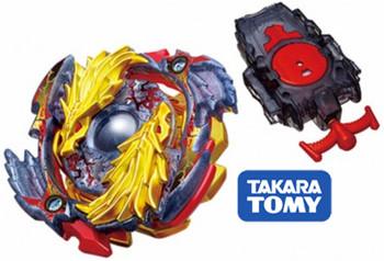 TAKARA TOMY Burst Gold Dragon Lost Longinus .N.Sp  Limited Edition Beyblade Starter w/ Launcher B-00