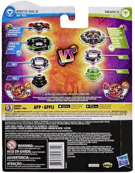 HASBRO Engaard E5 & Monster Ogre O5 Burst Rise HyperSphere Beyblade Dual Pack E9237