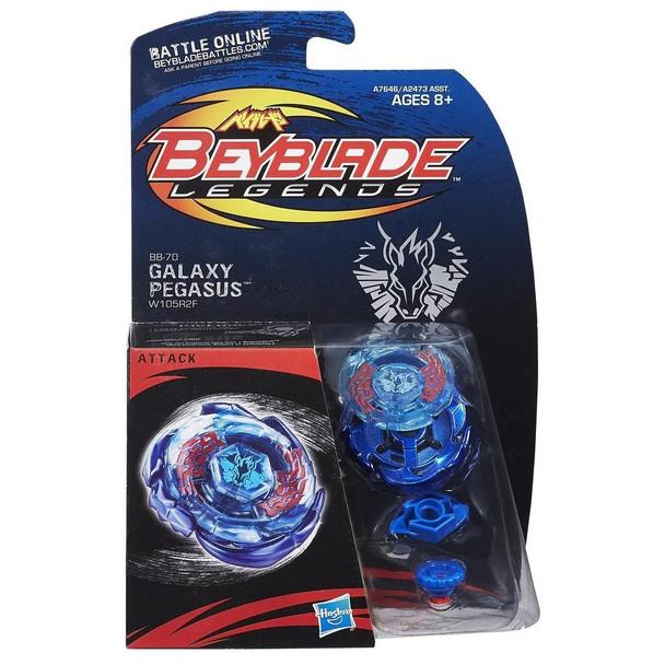 HASBRO Galaxy Pegasus / Pegasis W105R²F Legends Beyblade BB-70