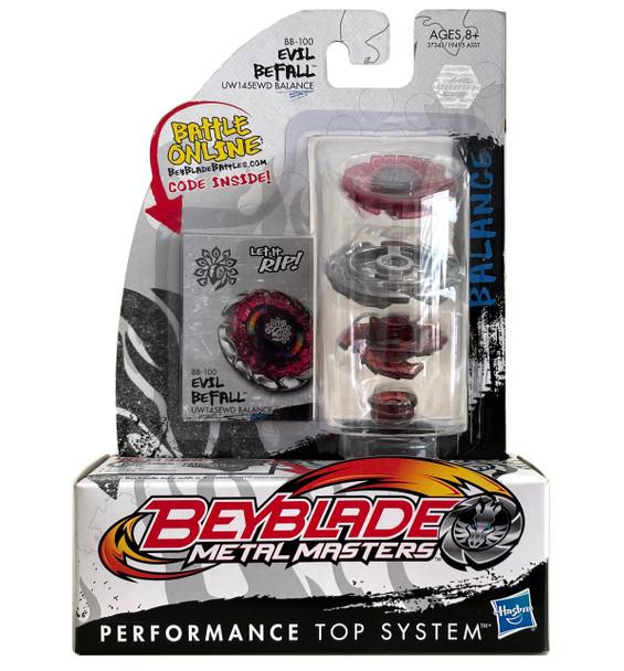 HASBRO Evil Befall / Killer Beafowl UW145EWD Metal Masters Beyblade BB-100