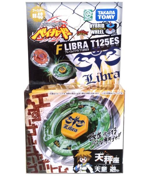 TAKARA TOMY Flame Libra T125ES Metal Fusion Beyblade BB-48