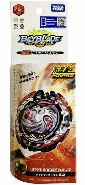TAKARA TOMY Dread Dead Phoenix .0.At Burst Turbo Beyblade B-131