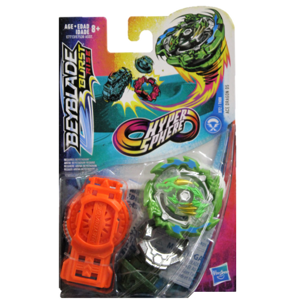 HASBRO Ace Dragon D5 Sting Charge I-H Burst Rise HyperSphere Beyblade E7713