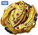 TAKARA TOMY RARE Gold Knight Turbo Cho-Z Achilles Burst Rise WBBA Beyblade B-00