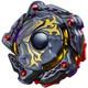 TAKARA TOMY Amaterios .7M.X EVIL GOD WBBA Burst Evolution Beyblade B-00