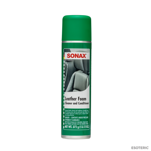 SONAX Leather Foam Cleaner and Conditioner