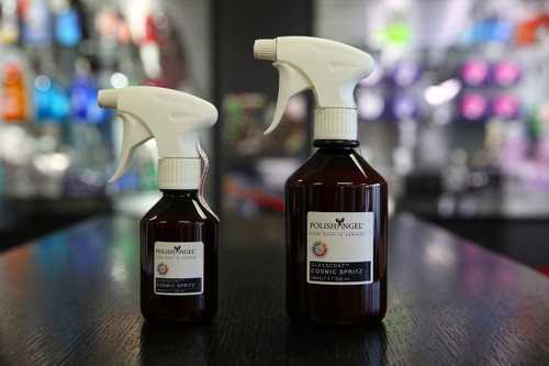 POLISHANGEL Glasscoat Cosmic Spritz. This easy-to-apply spray coating for vehicles delivers amazing results.