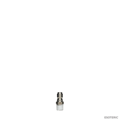 "MTM Hydro Stainless Quick Connect Plug (Male 3/8"")"